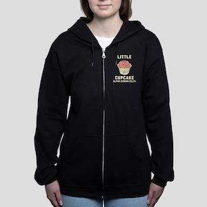 Alpha Gamma Delta Little Cupcak Women's Zip Hoodie