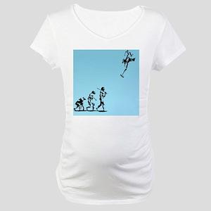 evolution-rocket-TIL Maternity T-Shirt