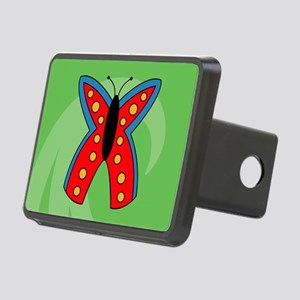 Butterfly Puzzle Rectangular Hitch Cover
