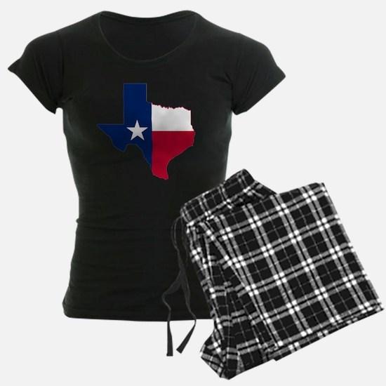 Texas Flag Map Pajamas