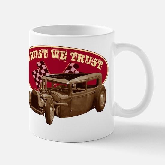 In rust we trust Mug