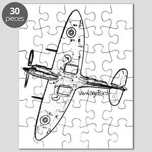 spitfire black Puzzle