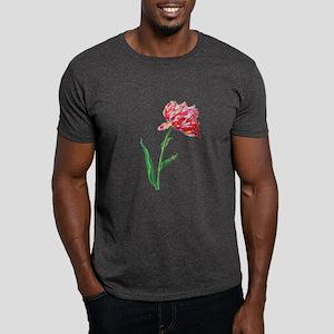 Pierre Joseph Redoute Tulips Dark T-Shirt