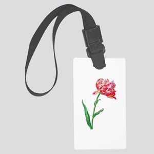 Pierre Joseph Redoute Tulips Large Luggage Tag