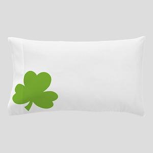 Irish Twin Shamrock Pillow Case