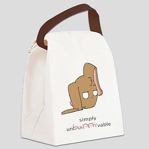 unBUNNYvable Canvas Lunch Bag