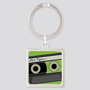 Mix Tape! Square Keychain