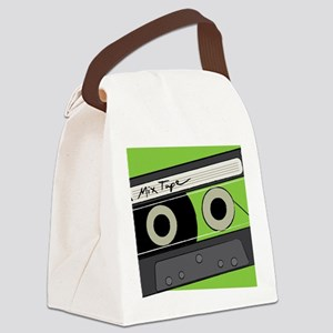 Mix Tape! Canvas Lunch Bag