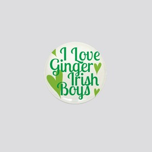 Ginger Irish Boys Mini Button