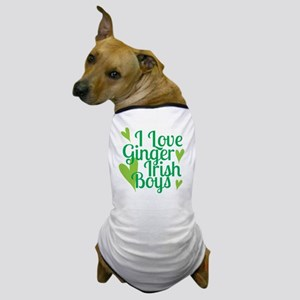 Ginger Irish Boys Dog T-Shirt