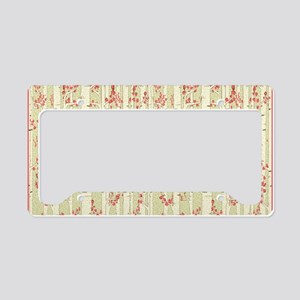 birch trees area rug License Plate Holder