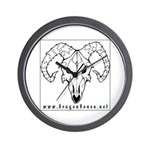 Dragonbones Wall Clock