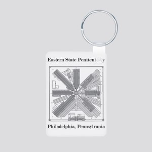 Eastern State Penitentiary Aluminum Photo Keychain
