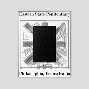 Eastern State Penitentiary Map Picture Frame