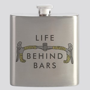 Life Behind Bars Flask