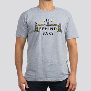 Life Behind Bars Men's Fitted T-Shirt (dark)