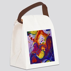 The Power of Love Canvas Lunch Bag