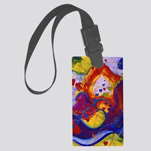 The Power of Love Large Luggage Tag