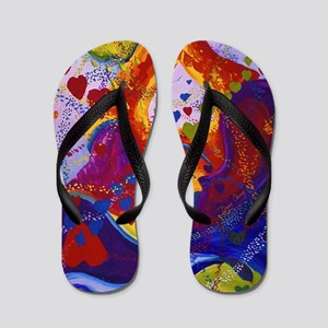 The Power of Love Flip Flops