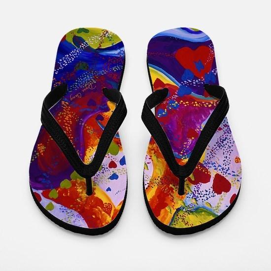 The Power of Love Flip Flops