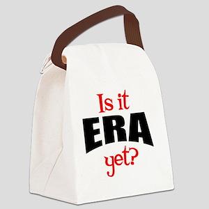 ERAyetRound Canvas Lunch Bag