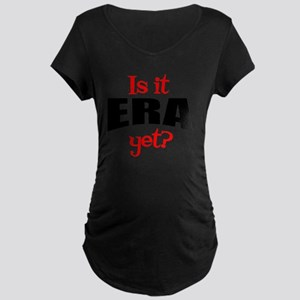 ERAyetRound Maternity Dark T-Shirt