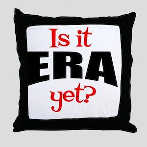 ERAyetRound Throw Pillow