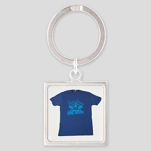 Catalina Wine Mixer T-shirt Square Keychain