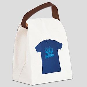 Catalina Wine Mixer T-shirt Canvas Lunch Bag