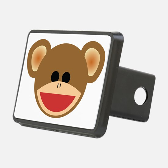 Wild Sock Monkey Child Hitch Cover