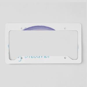 Day Dreamer License Plate Holder