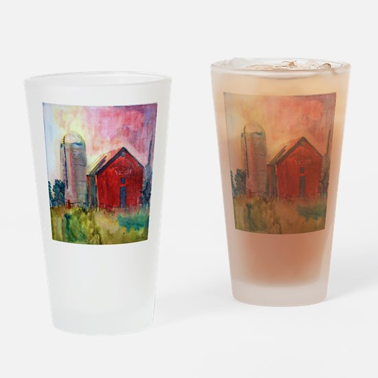 Yasgurs Barn Drinking Glass