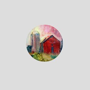 Yasgurs Barn Mini Button