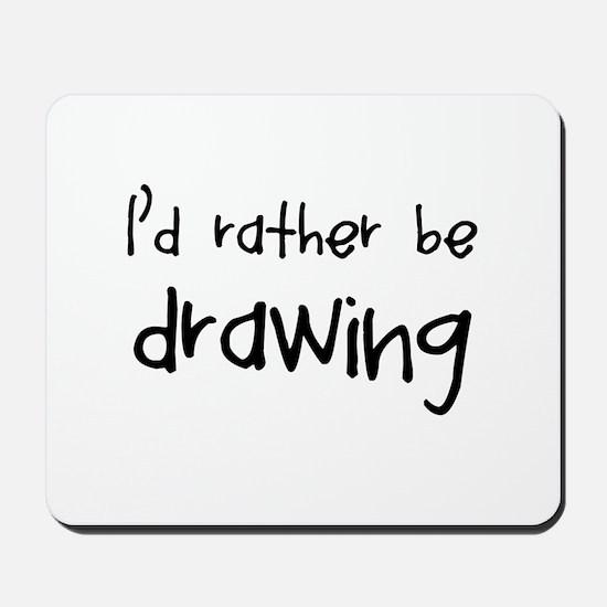 Drawing Mousepad