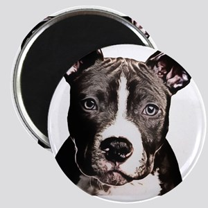 Cartoon Pit Pup Magnet