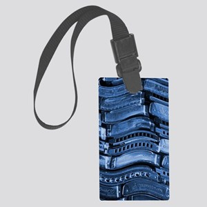 blues harmonicas Large Luggage Tag