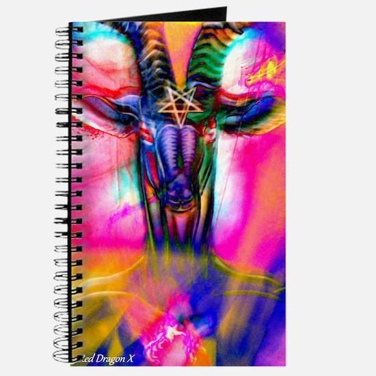 Psychedelic Baphomet Journal