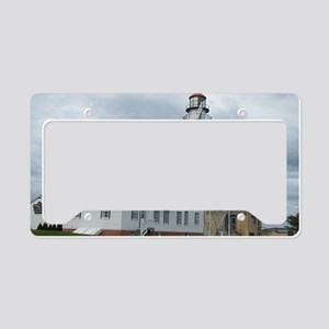 Whitefish Point Lighthouse License Plate Holder