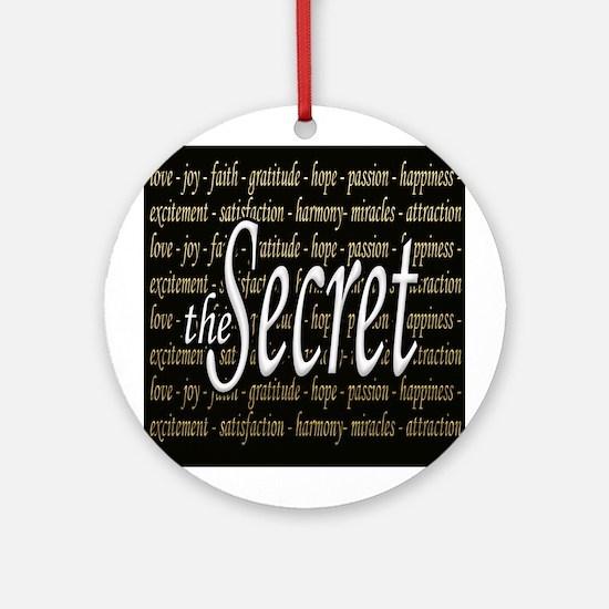 The Secret Ornament (Round)