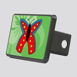 Butterfly Small Serving Tr Rectangular Hitch Cover