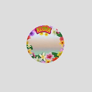 Hawaii frame Mini Button