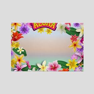 Hawaii frame Rectangle Magnet