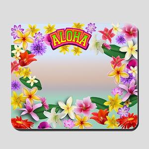Hawaii frame Mousepad