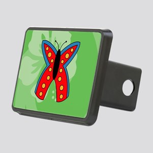 Butterfly Mens All Over Pr Rectangular Hitch Cover