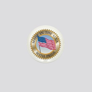MADE IN THE USA SEAL! Mini Button