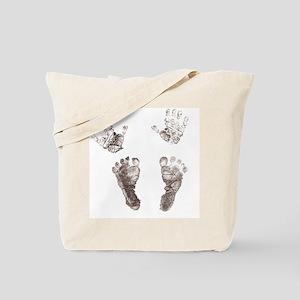 Baby Inside Tote Bag