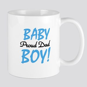 Baby Boy Proud Dad Mug