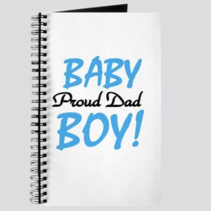 Baby Boy Proud Dad Journal
