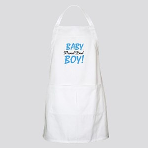 Baby Boy Proud Dad BBQ Apron