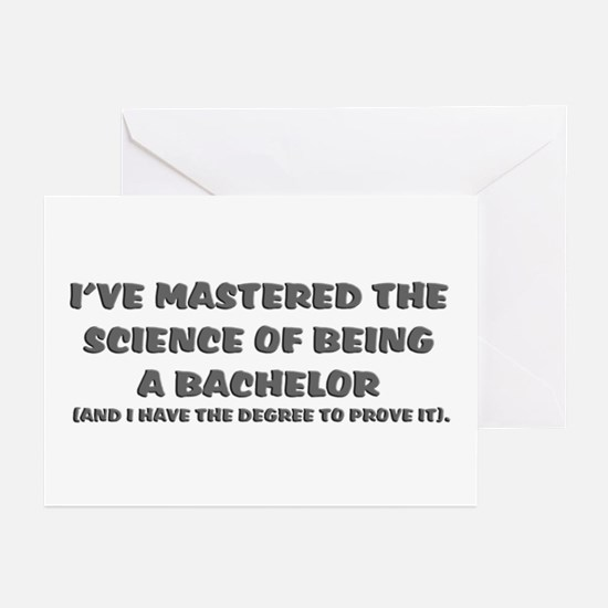 Bachelor of Science Graduation Greeting Cards (Pac